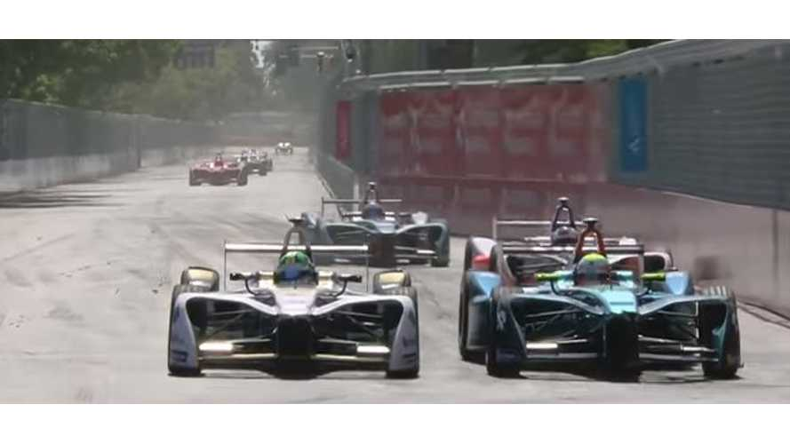 51 Minutes Of Racing Highlights From Santiago Formula E - Video
