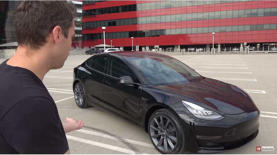 Custom Tesla Model 3 First Drive - Video
