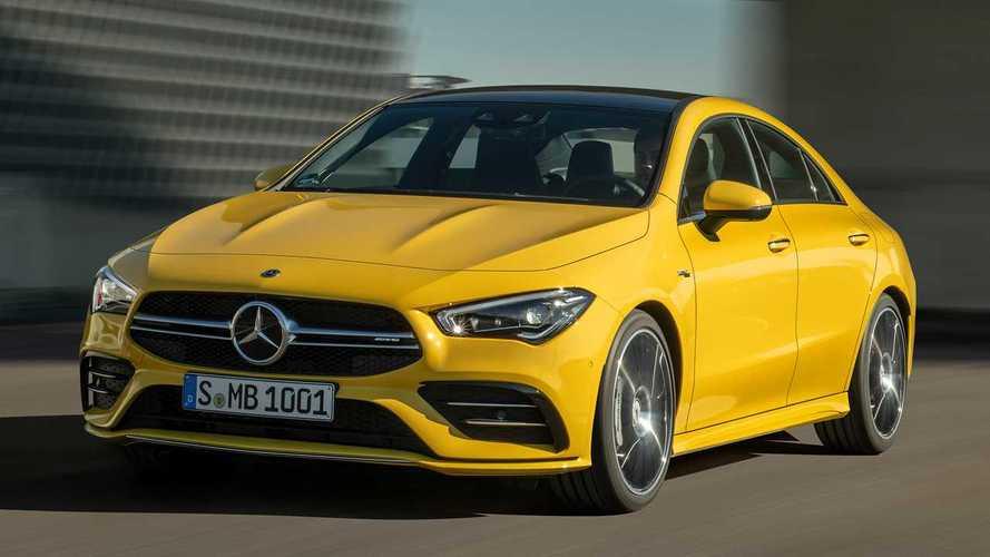 Mercedes-AMG CLA 35 представлен официально