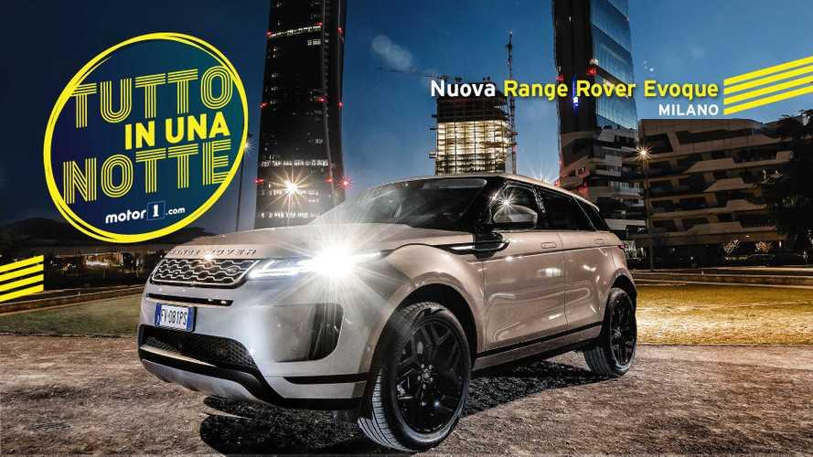 Range Rover Evoque, un'inglese nella notte di Milano