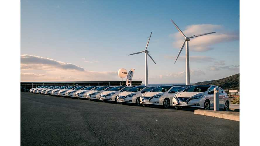 In 2018 Nissan Sold Close To 40,000 LEAFs In Europe