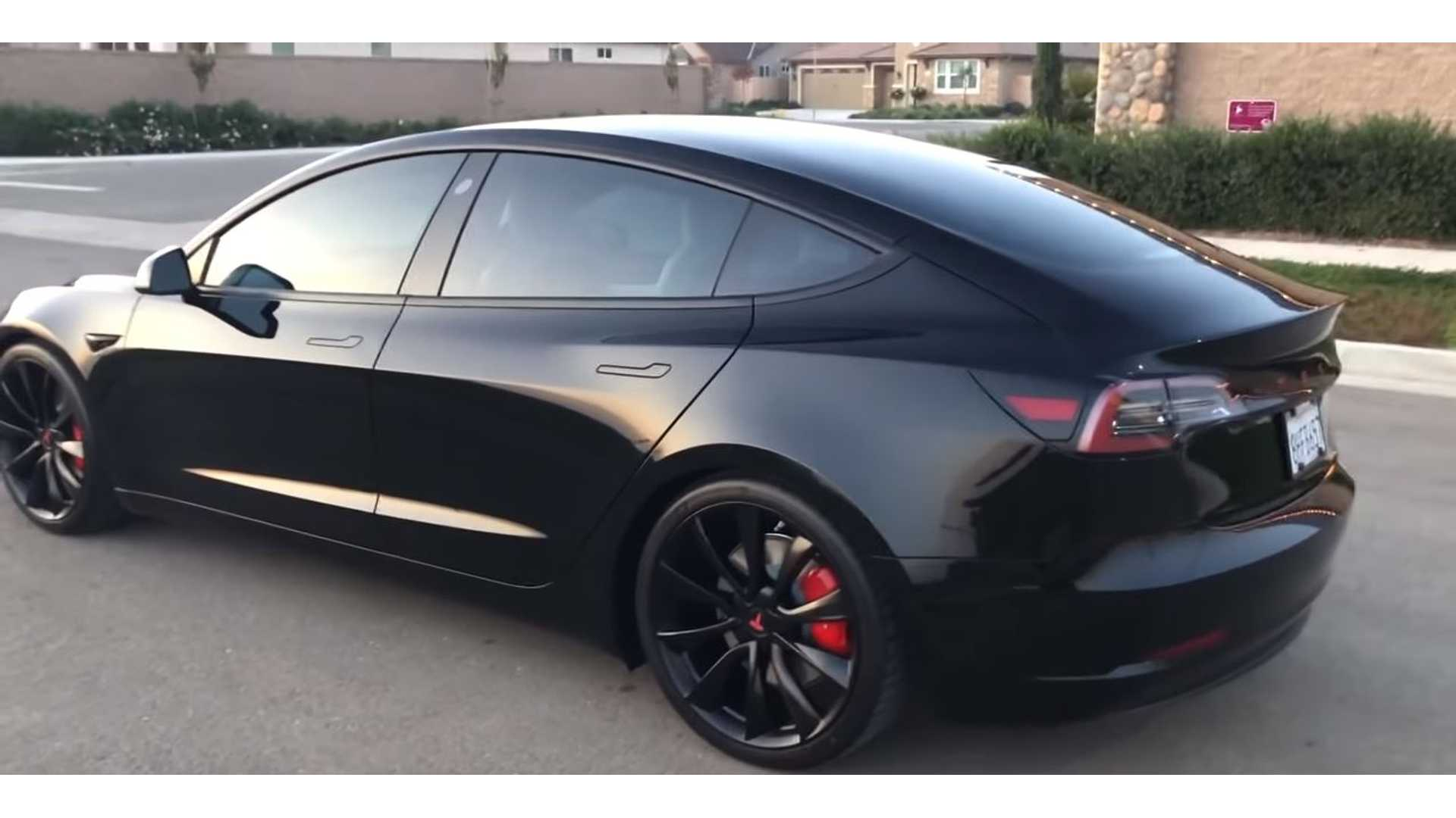 Check Out All The Mods On This Tesla Model 3 Performance