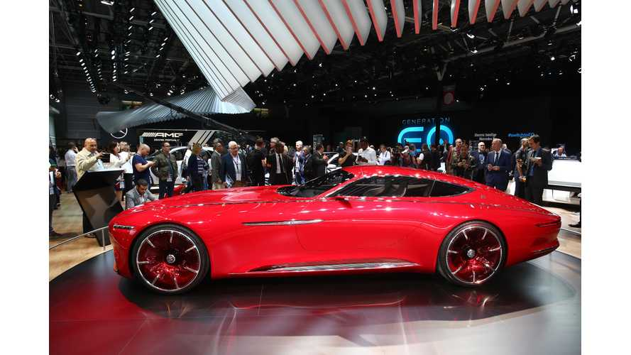 Mercedes-Benz Maybach Range Of Electric Vehicles A Possibility