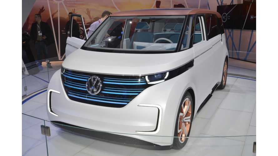 "Volkswagen BUDD-e Named North American ""2016 Concept Truck of the Year"""