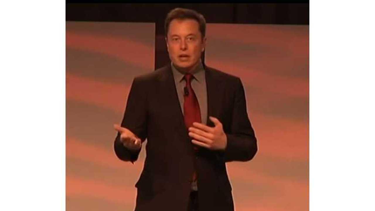 Elon Musk Detroit Auto Show via AP header