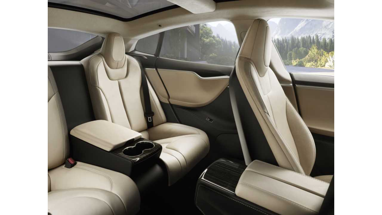 Executive Rear Seat Option For Tesla Model S Costs $4,750