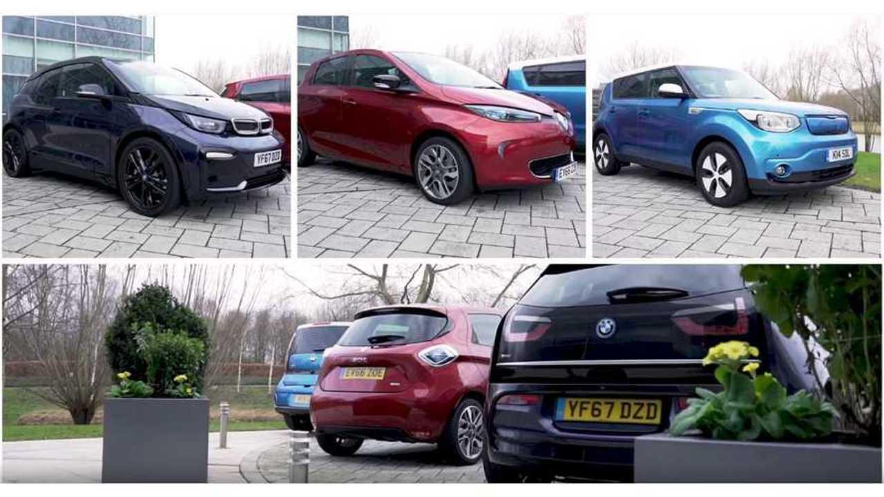 Tested - BMW i3s vs Kia Soul EV vs Renault ZOE