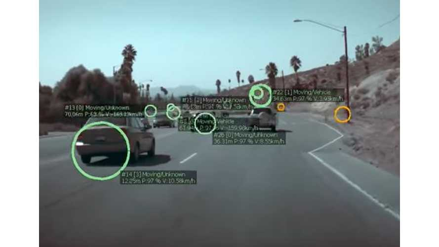 This Video Reveals What Tesla Autopilot Actually Sees