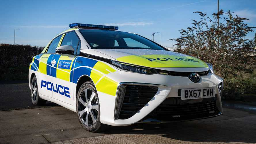 Metropolitan Police Green Up Fleet With Toyota Mirais