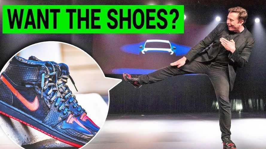 Elon's Custom Tesla Kicks: How To Buy Your Own Pair Today