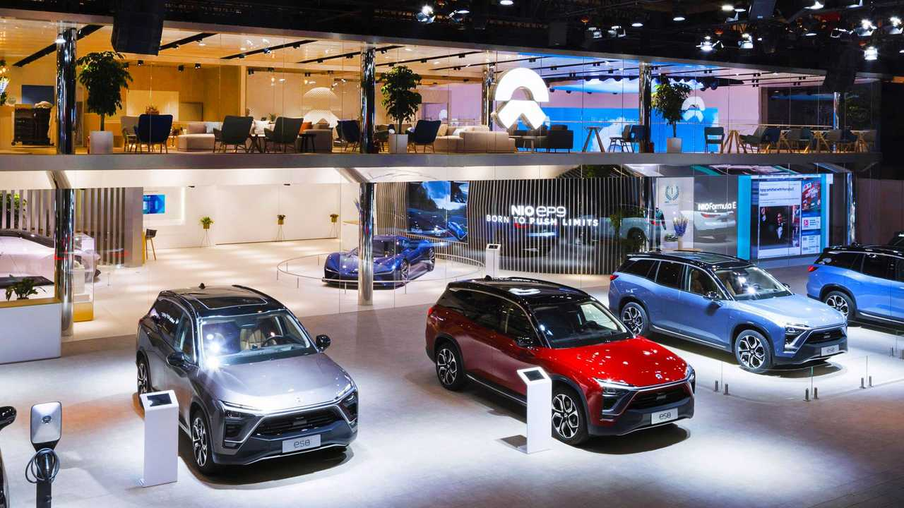 NIO ES8 Electric SUV Sales In China Increased In March