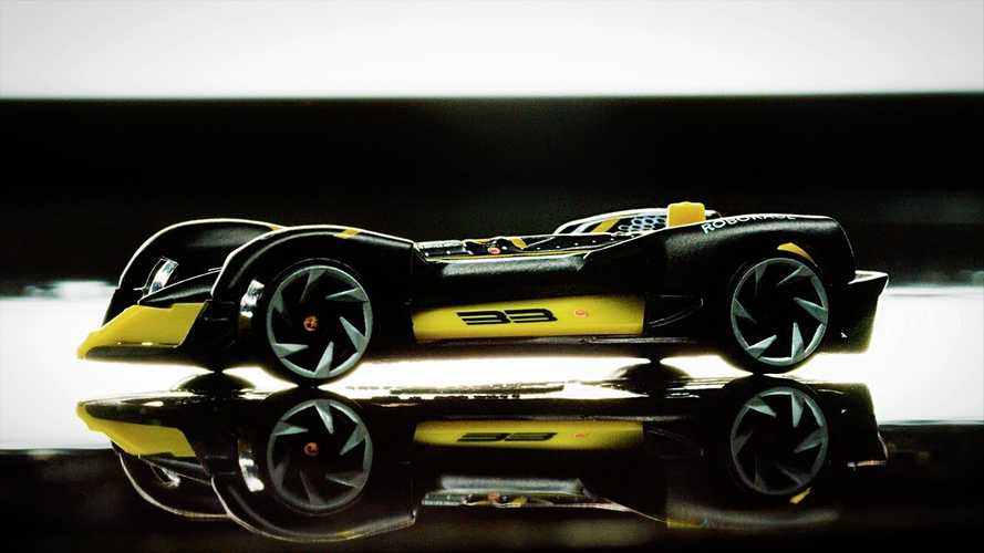 Check Out The New Roborace Diecast Hot Wheels Car: Video