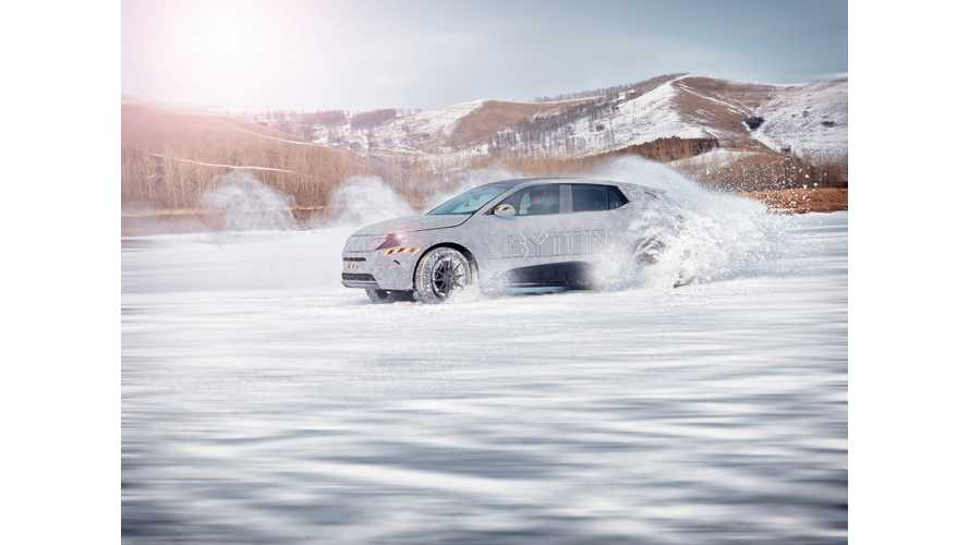BYTON Completes Initial Cold Weather Testing For M-Byte SUV