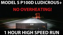 Watch Tesla Model S Drive 125 MPH For Over An Hour