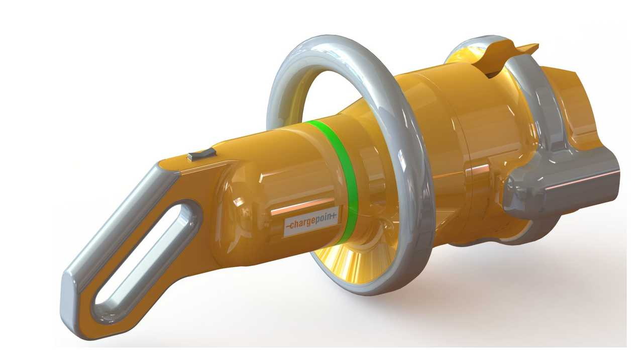 <em>ChargePoint High-Powered Connector Concept - External Features</em>