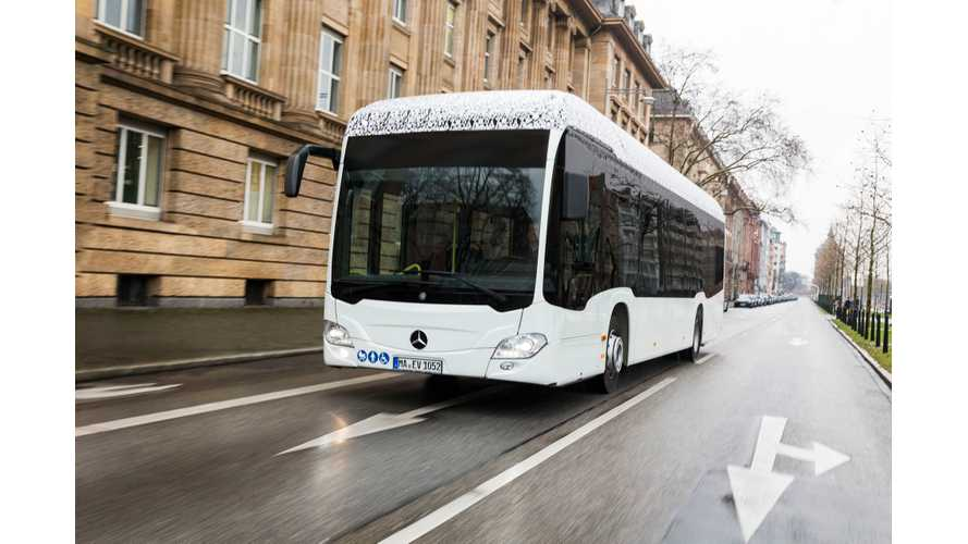 First 20 Electric Mercedes-Benz Citaro Buses Ordered