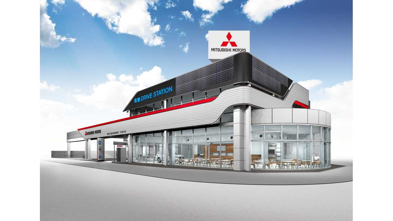 Mitsubishi Enhances Dealers In Japan With Solar, DC Charging, V2B, ESS