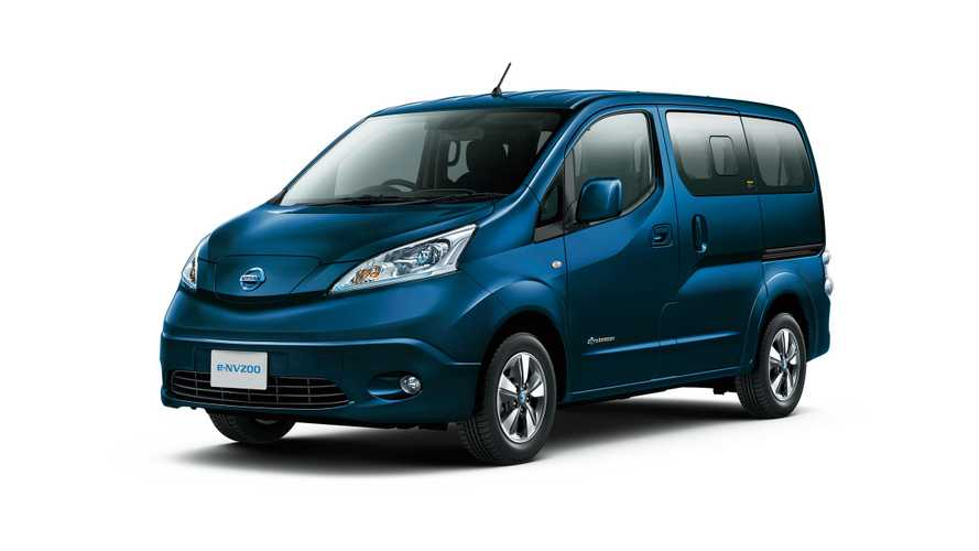 Nissan Launches New 40-KWh e-NV200 in Japan