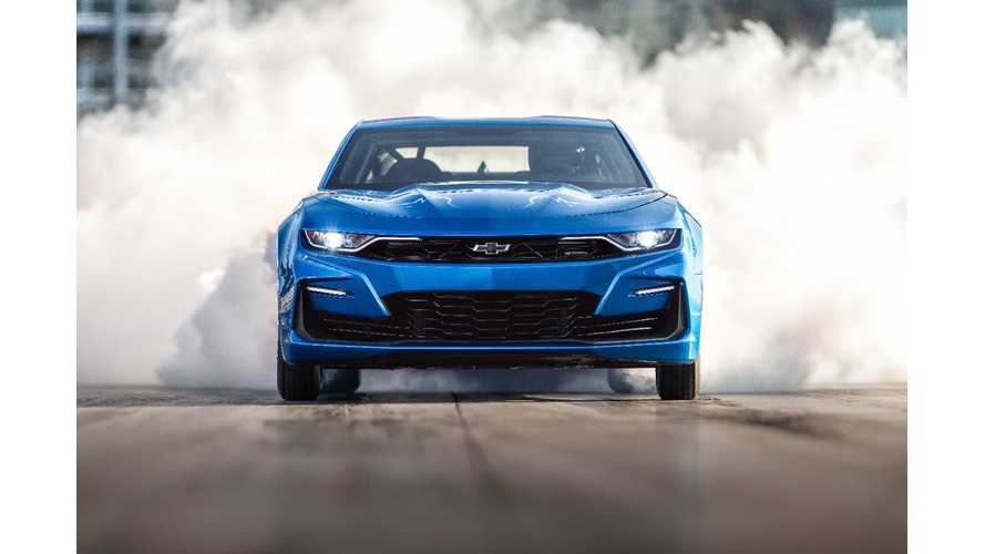 UPDATE VIDEO: Chevy Camaro eCOPO Blows Away Tesla Model S P100D