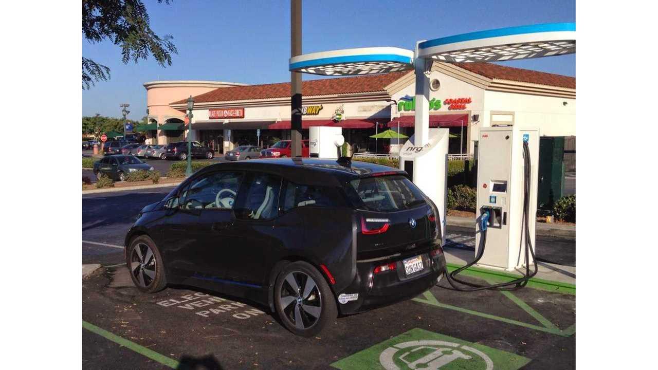 Testing 50 kW CCS With BMW i3