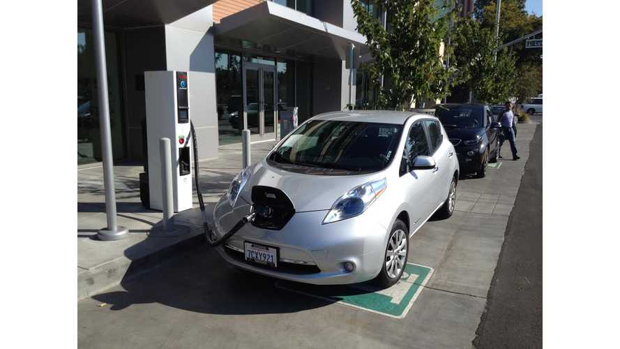 On The Scene: California's First Curbside Fast Charger
