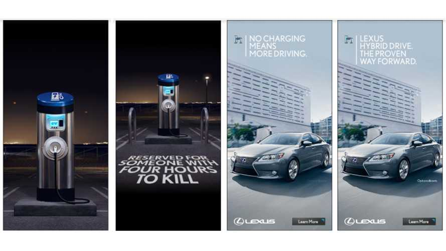 Lexus Refuses To Pull Anti-EV Ad - Still Exists Both Online And In Print