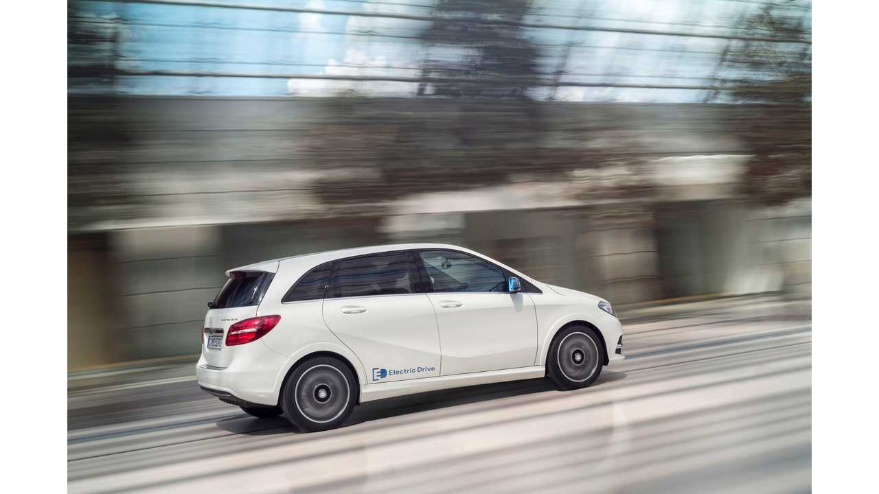 Mercedes-Benz Releases Series Of B-Class Electric Drive Videos