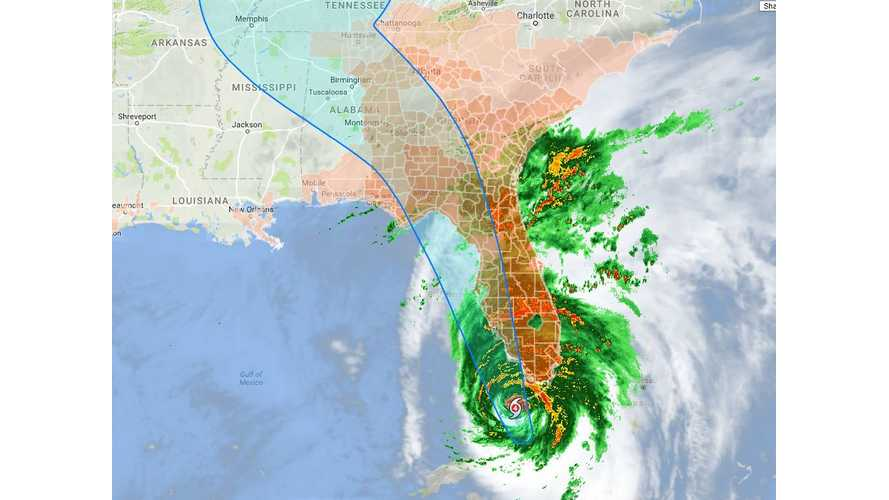 As Hurricane Irma Impacts Florida, Tesla Sends Range-Extending OTA Update To Model S, X-Owning Evacuees