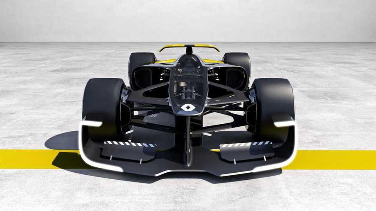 Renault Formula 1 Concept Is Electric