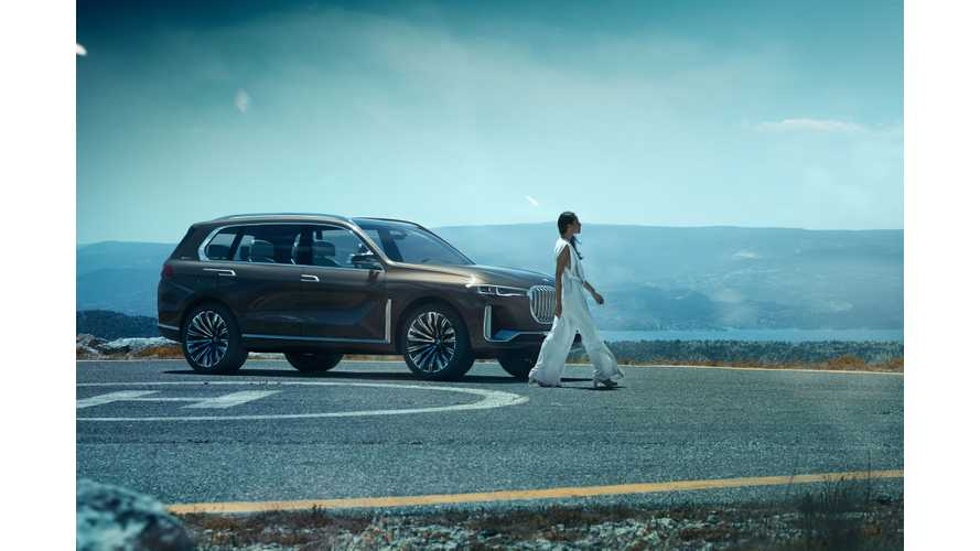 BMW Reveals Concept X7 iPerformance PHEV -