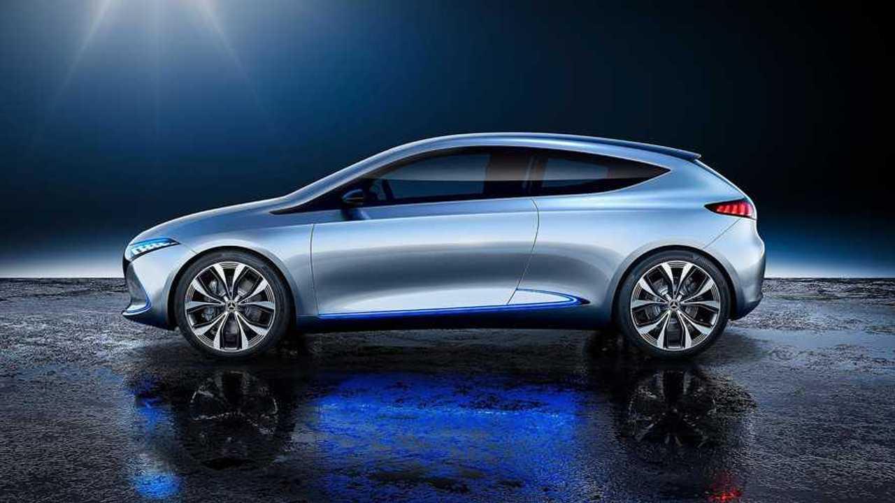 Mercedes-Benz EQ A Brings 249-Mile Range* To The EV Concept Scene