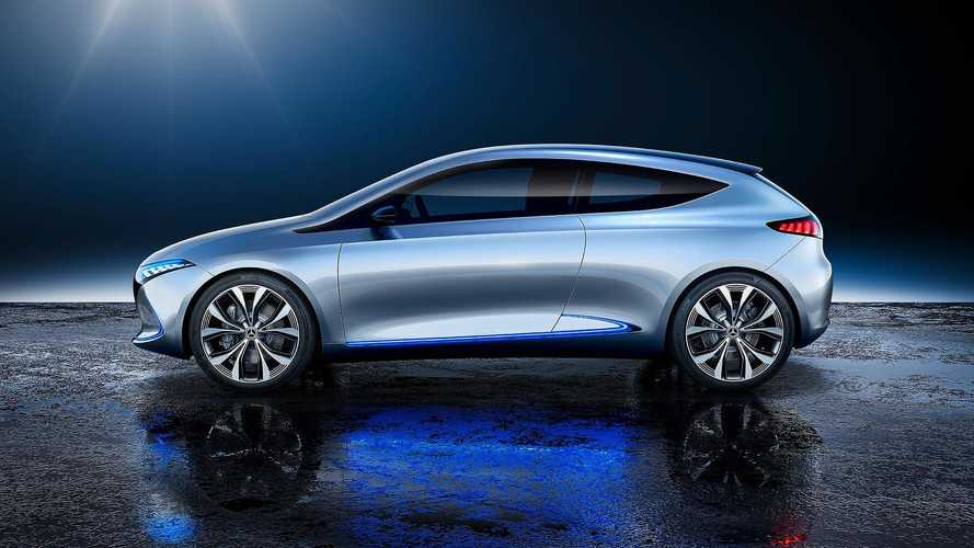 Mercedes-Benz EQ A Brings 249-Mile Range* To The EV Concept Scene