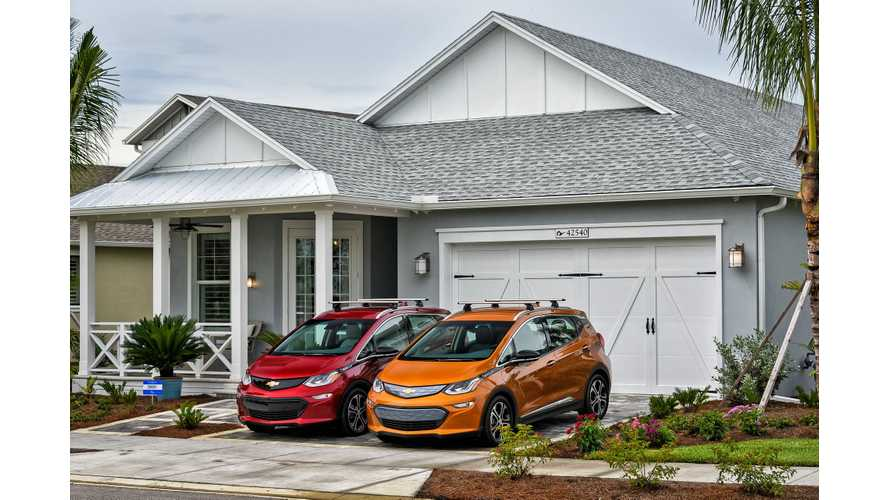 Chevy Bolt Was #1 Selling Electric Car In California In 2017, Beating Tesla Model S