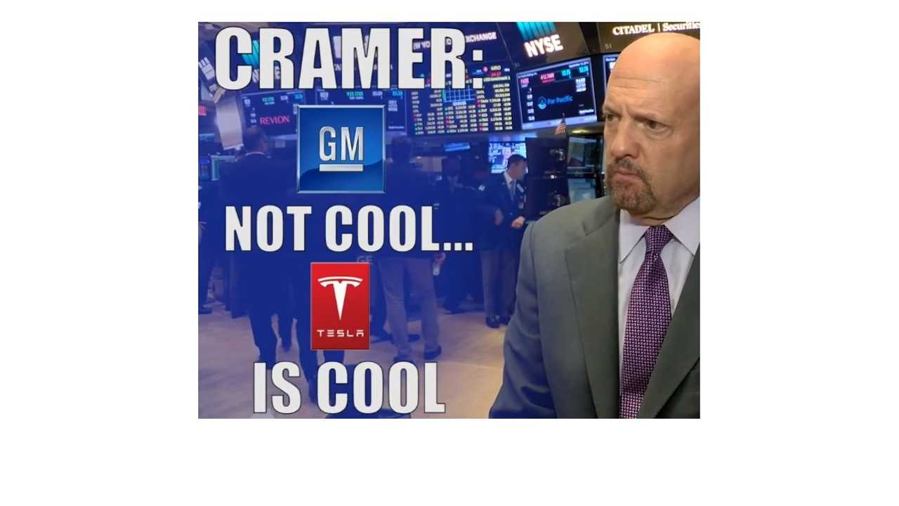 Jim Cramer: Chevrolet Bolt Doesn't Move The Needle For GM, We Disagree - Videos