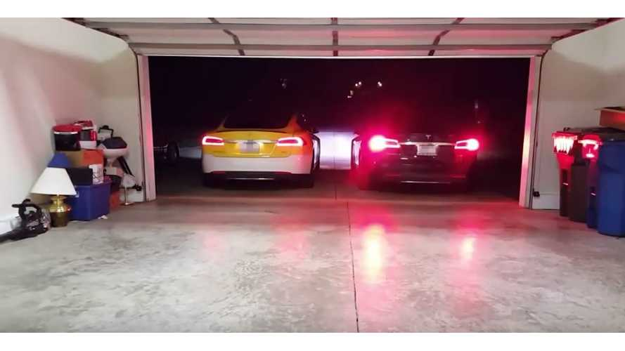Double The Tesla Model S Summon, Double the Fun - Video