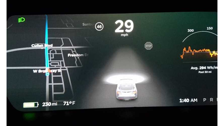 Tesla Autopilot 2.0 Now Detecting Stop Signs Plus More Autopilot Functionality As Calibration Occurs (w/video)