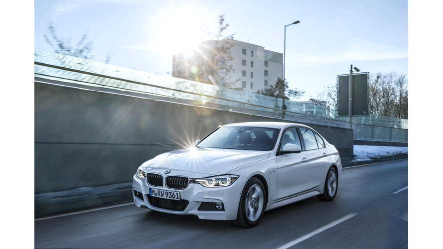 BMW States Strong Plug-In Hybrid Sales In Europe, Specifically With The 330e
