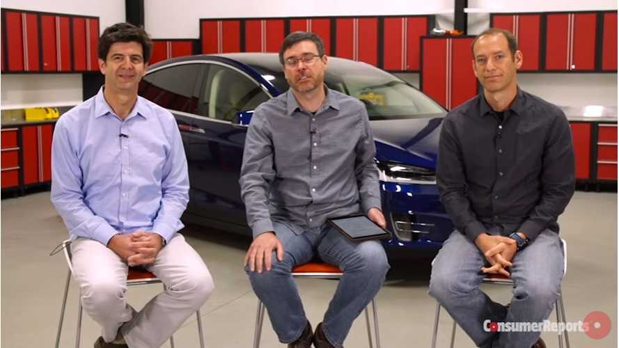 Consumer Reports Talks All Things Tesla Model X - Video
