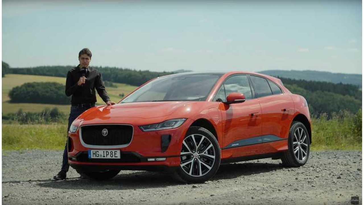 Watch Sporty Jaguar I-PACE Test Driven By Autogefühl