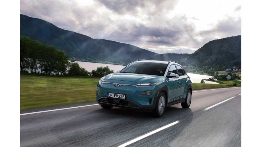 Hyundai Sells First 2,500 Kona Electric Crossovers