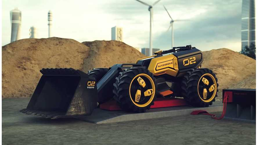 Watch Volvo Hint At Electric Construction Machines With LEGO