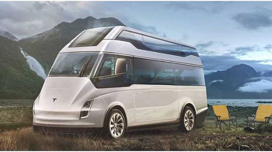 Tesla Electric Motorhome Comes To Life