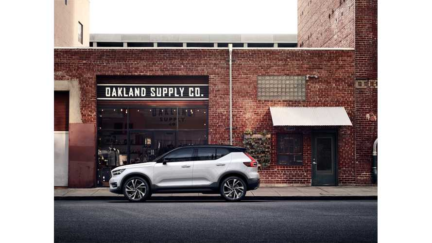 Volvo XC40 Electric Likely To Be Profitable If Priced At $50,000