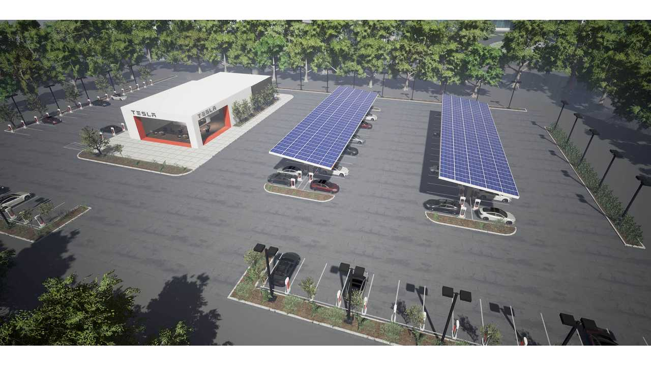 40-Stall Tesla Superchargers Planned For Norway, California
