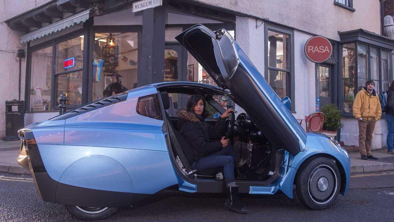 Riversimple Rasa hydrogen fuel cell car