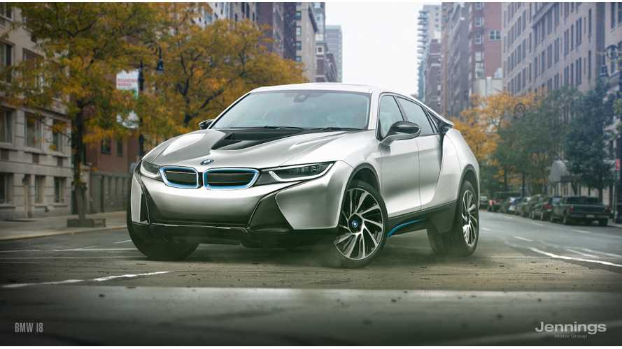 BMW i8 Rendered In Crossover Form