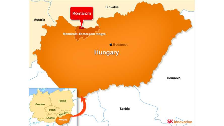 SK Innovation Begins Construction Of 7.5 GWh Battery Plant In Hungary