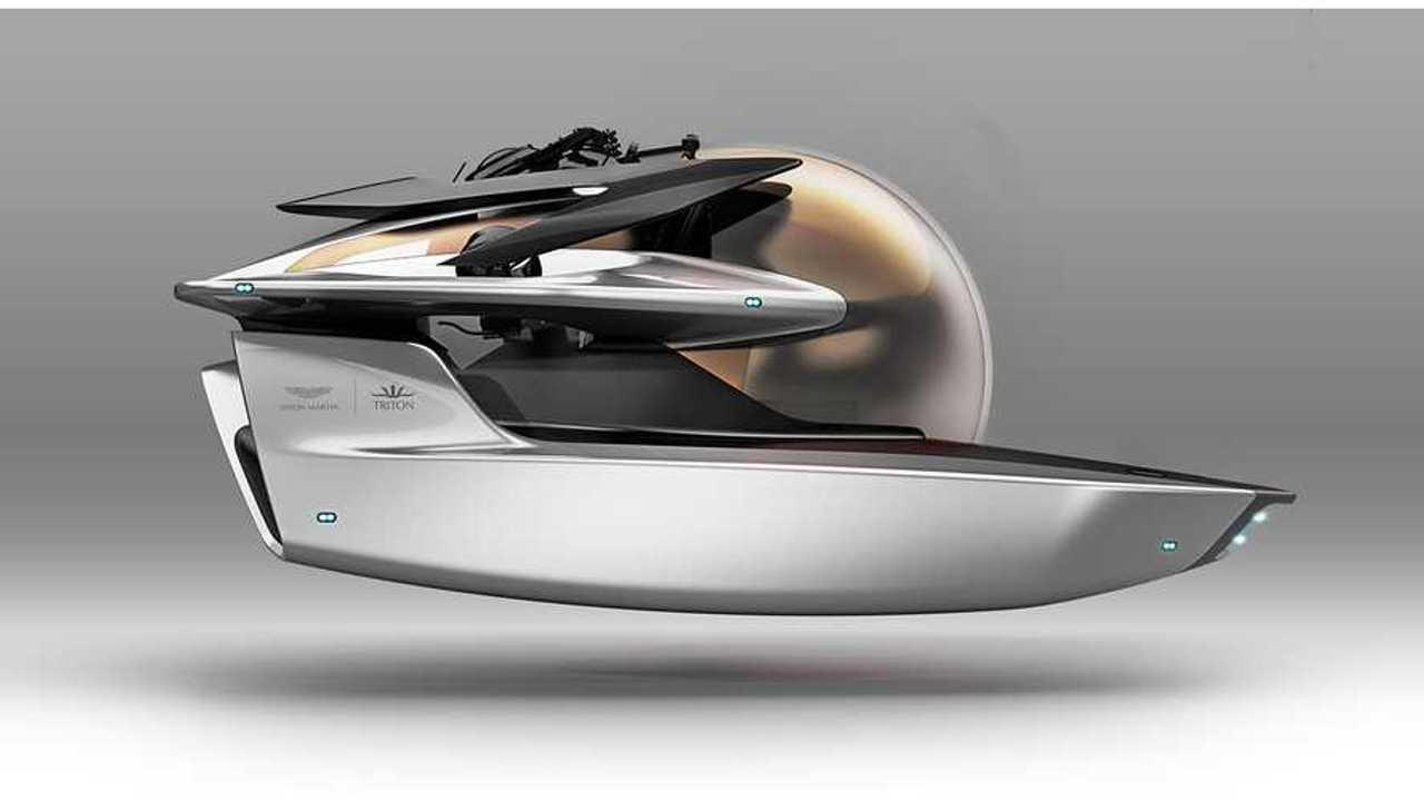 Aston Martin Unveils Neptune Electric Submarine