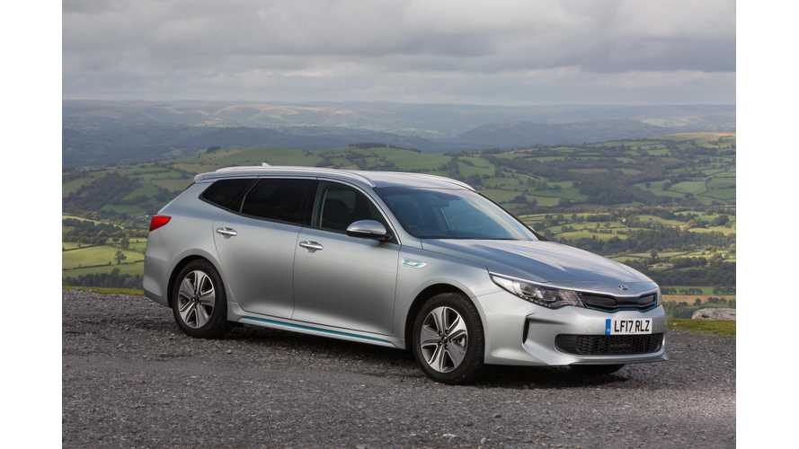 Kia Optima Sportwagon PHEV Review