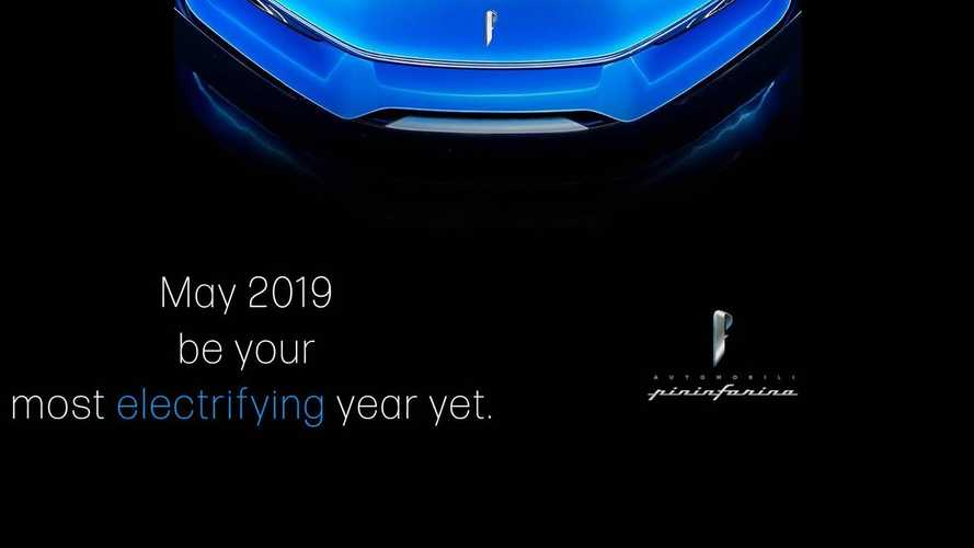 Pininfarina Battista shows its sleek nose in new teaser